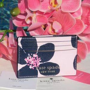 Kate Spade Cameron Grand Flora Slim Card Holder
